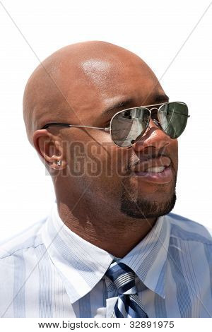 Handsome Business Man With Sunglasses