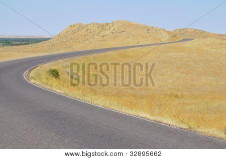 Little Bighorn Battlefield National Monument park road