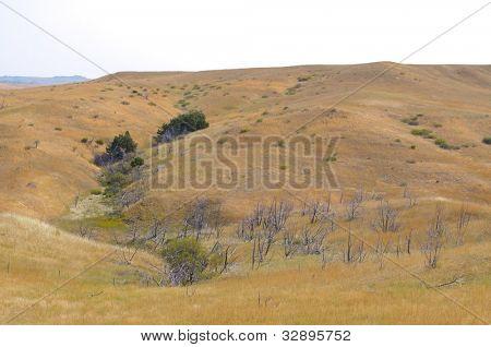 Little Bighorn Battlefield National Monument hills