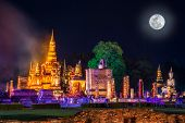 Beautiful Scene Light Color Sukhothai Co Lamplighter Loy Kratong Festival Party At The Sukhothai His poster