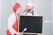 Private Cooking School. Master Cook And Prep Cook Giving Cooking Class. Chef And Cook Helper Teachin poster