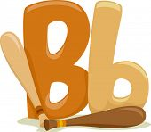 stock photo of letter b  - Illustration Featuring the Letter B - JPG