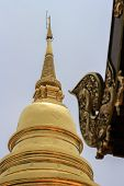 Wat Phra Singh Or With The Full Name Wat Phra Singh Woramahaviharn Is An Important Temple In Chiang  poster