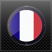 Banner Illustration With Flag. Bright Banner With Flag Of France. Happy France Day Button. Made In F poster