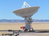 Radio Telescope In New Mexico