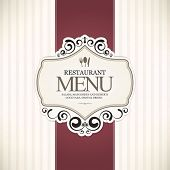 image of cocktail menu  - Restaurant menu design - JPG