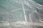 picture of geoglyph  - The Nazca Lines are a series of ancient geoglyphs located in the Nazca Desert in southern Peru - JPG