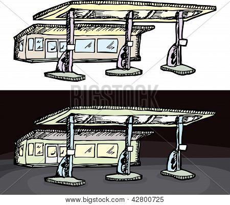 Generic Gas Station
