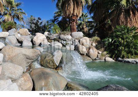 Oasis waterfall