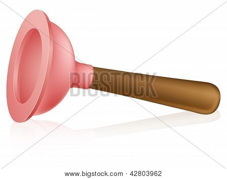 Cartoon Plunger