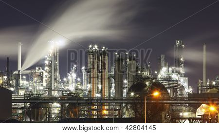Indutry - Oil And Gas Factory - Chemical Refinery