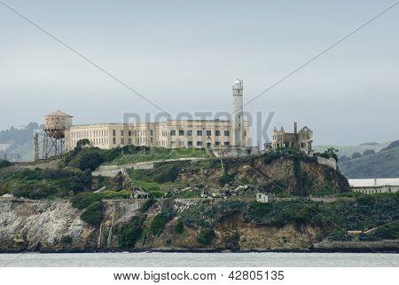 Alcatraz Island Prison In San Francisco Bay