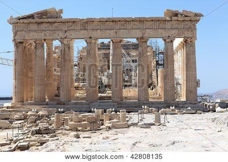Front Of Parthenon