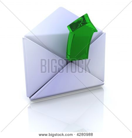 Computer Icon For Open Email