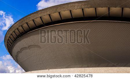 Futuristic sports hall in Katowice