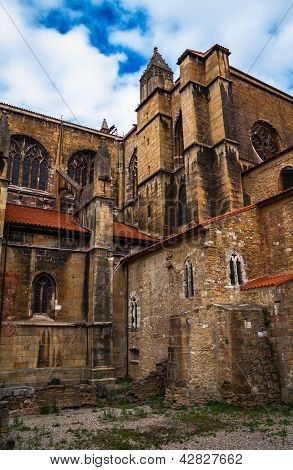 Oviedo Cathedral Rear View