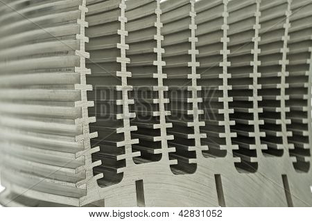 Close Up Of Heat Sink