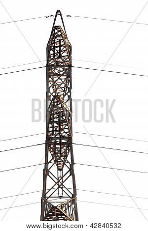 Electrical Tower Isolated