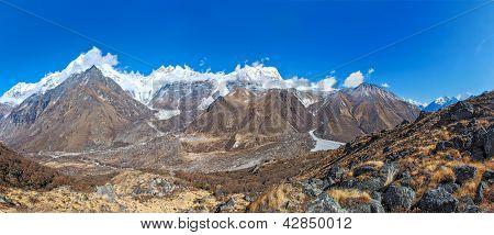 Mount Langtang Peak, Nepal
