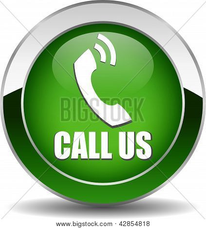 Vector call us button