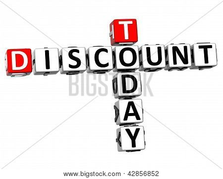 3D Today Discount Crossword