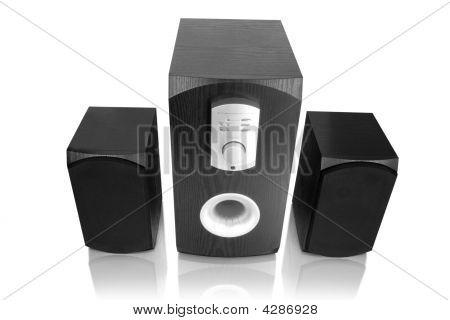 Speakers. Music