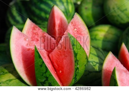 Cut Watermellon