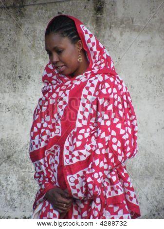 Native Woman In Grande Comores