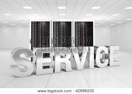 Data Center With Chrome Service