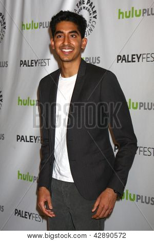LOS ANGELES - MAR 3:  Dev Patel arrives at the