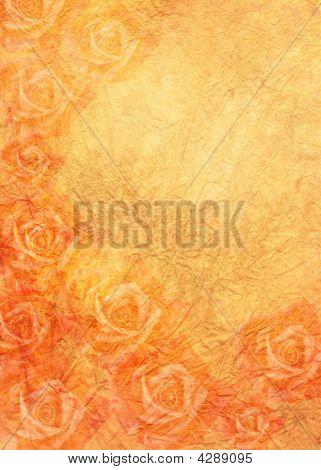 Roses In Orange