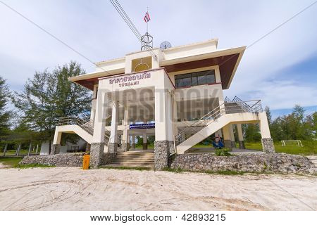 Tsunami evacuation building in Thailand