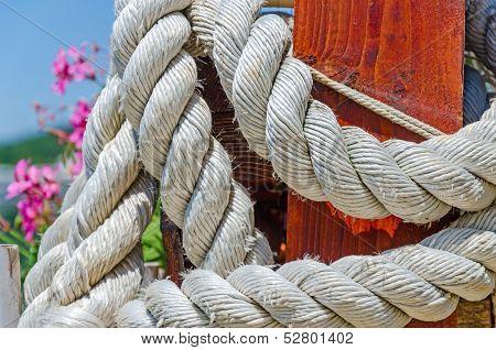 Thick White Rope