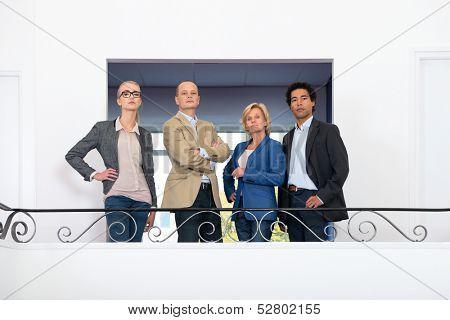 Stern looking management team