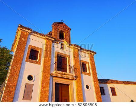 Ermita De San Miguel El Alto In Granada, Spain