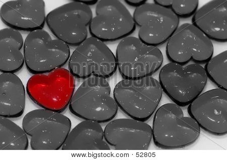 Isolated Red Heart...