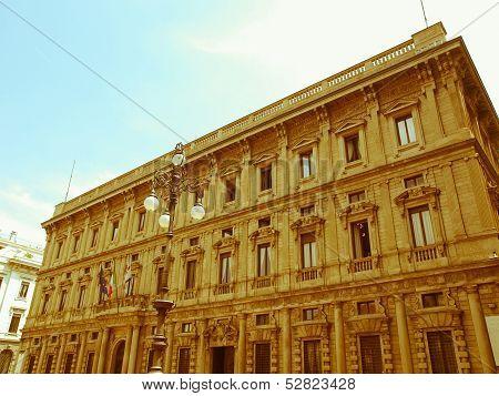 Retro Looking City Hall, Milan