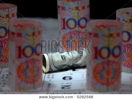 China Us Currency Note