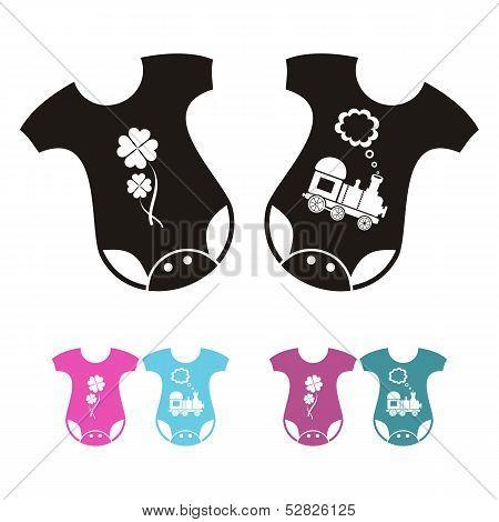 Bodysuit Icons
