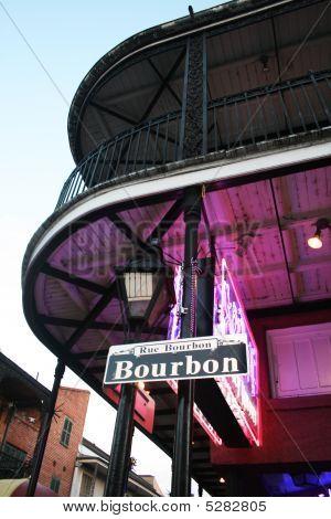Bourbon Street neón