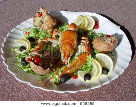 Crayfish And Shellfish