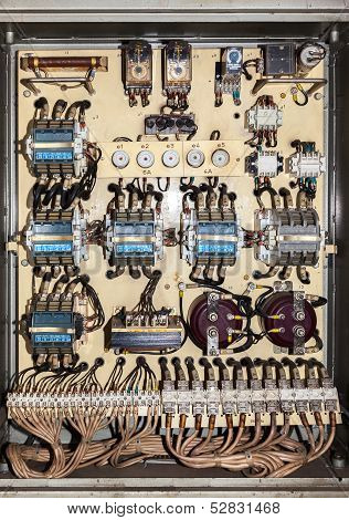 Old Electric Service Panel