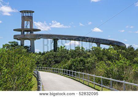 Florida Everglades Observation Tower