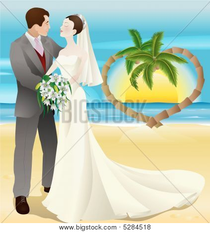 Tropical Destination Beach Wedding