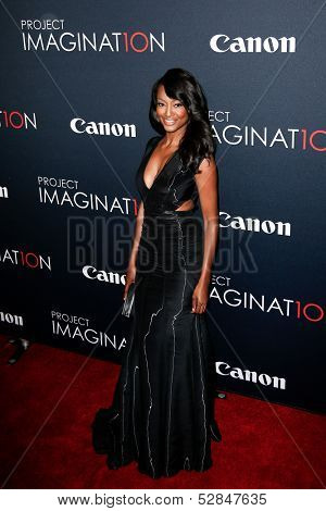 NEW YORK- OCT 24: Actress Nichole Galicia attends the global premiere of Canon's