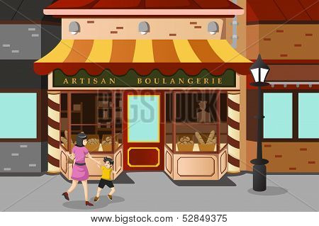 French Bakery Store