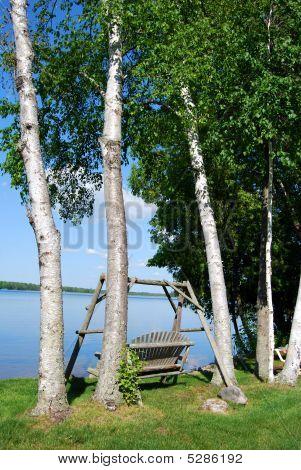 Serene lakeside respite