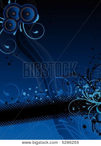 Blue Party Background