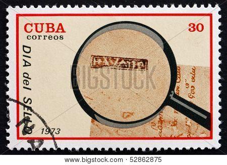 Postage Stamp Cuba 1973 Postmark From Havana, 1760
