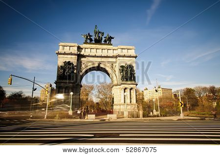 Soldiers' And Sailors' Arch In New York